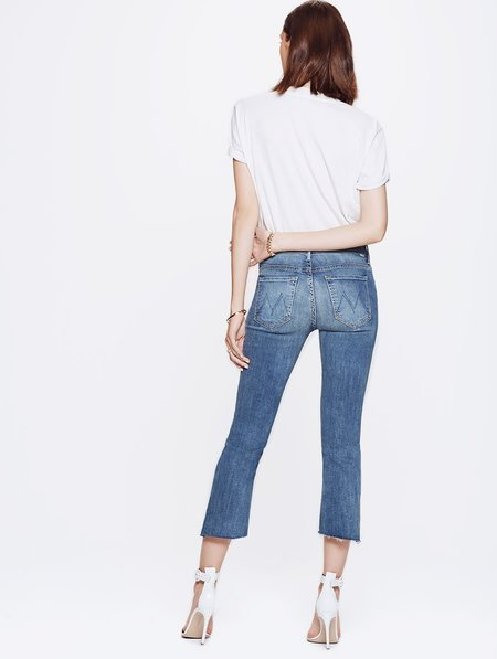 Mother Denim INSIDER CROP STEP FRAY - NOT ROUGH ENOUGH