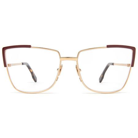 Zanzan Totto Optical Frame - Burgundy
