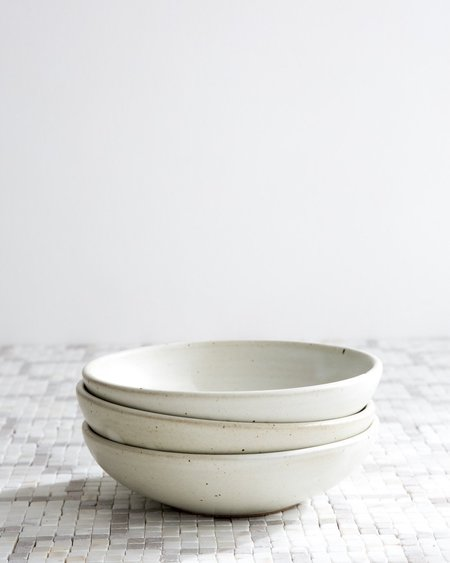 Sarah Kersten Breakfast Bowl Set Of 2 - Straw
