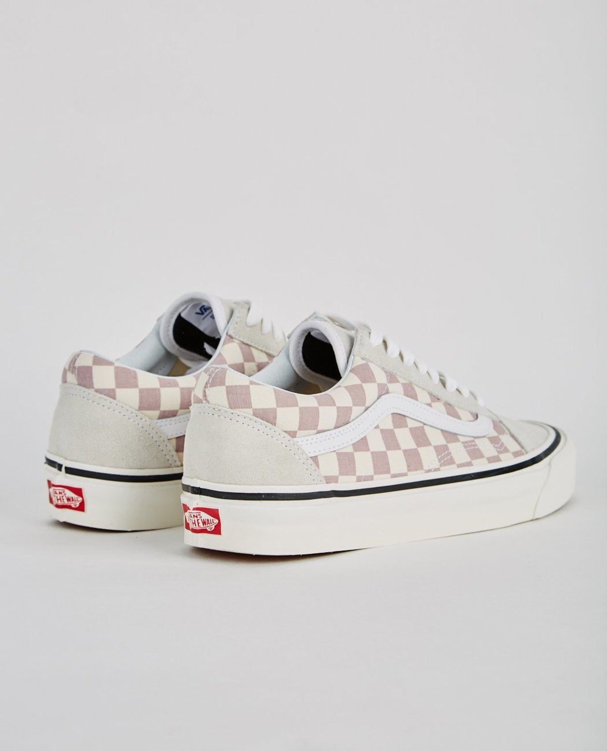e8bf914ffb5 VANS AUTHENTIC 36 DX ANAHEIM FACTORY OLD SKOOL - MAUVE CHECKERBOARD ...
