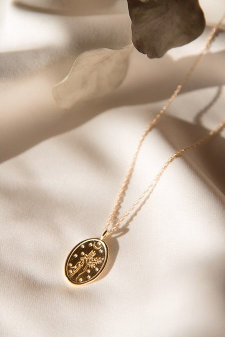 Merewif Diana Necklace - Gold