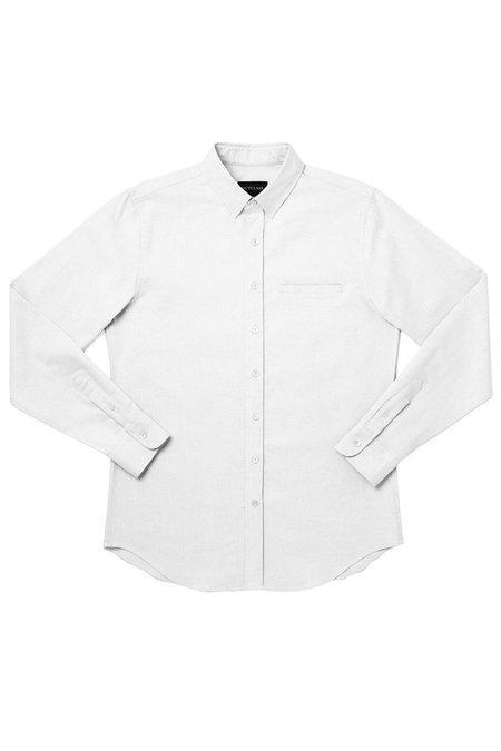 Outclass Oxford L/S Shirt - White