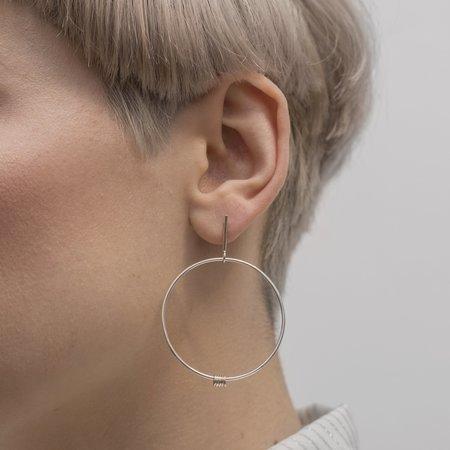 PILAR AGUECI Ilidi Earrings - Silver