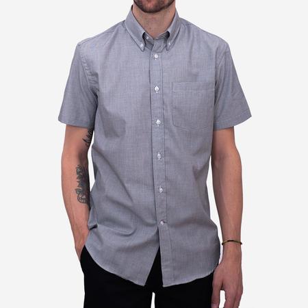 Bon Vivant Short-Sleeve Shirt - End-on-End Grey