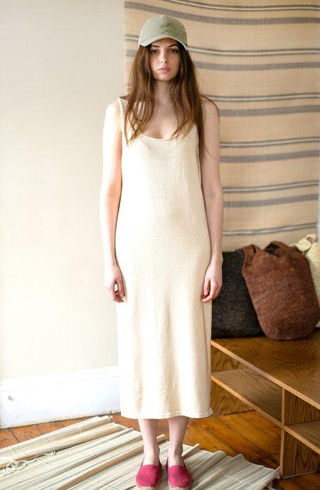 Colorant Fawn Hand-Knit Dress - Colorgrown Pima Cotton
