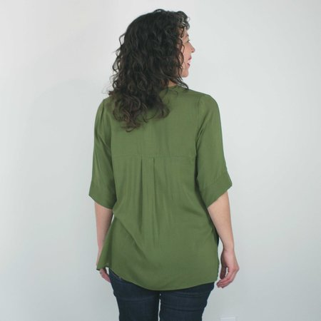 Dagg & Stacey Marwa Blouse - Green
