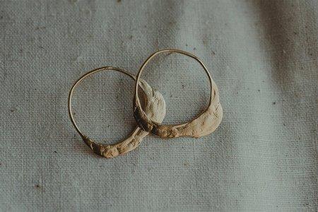 takara le' earrings - 14k Heavy Gold