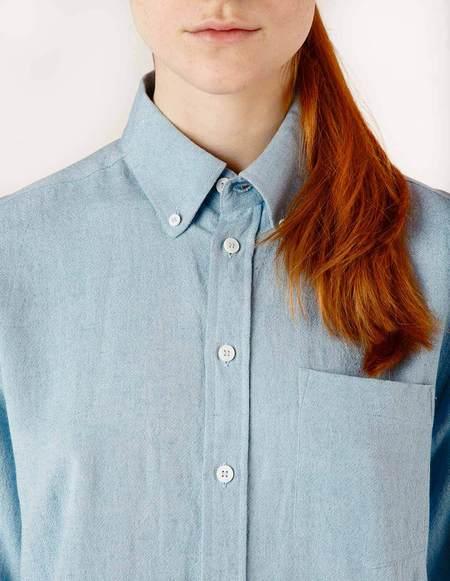 Laquintane Button-down Shirt - Light Blue