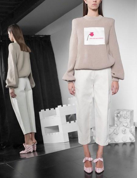 Assel Gul Sweater - Beige