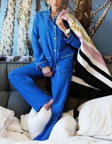 Son Trava Zakhari Silk Pajamas