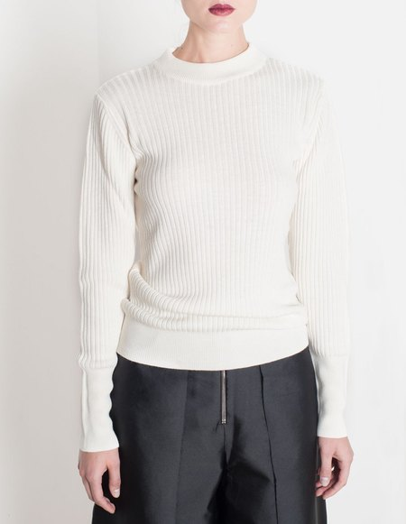 Etienne Deroeux Anna Wool Sweater - White