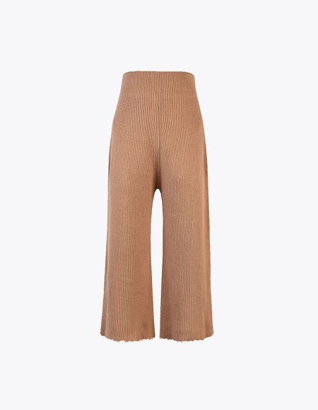 Ms Min Alpaca Pants - Tan