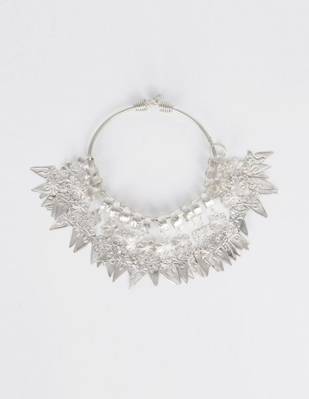 Ms Min Tin Silver Necklace