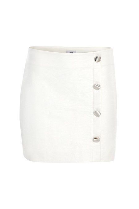 Dama Rena Mini Skirt - White