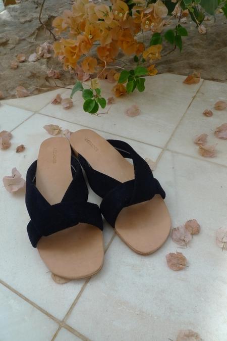 A Détacher Pipit Sandals - NAVY