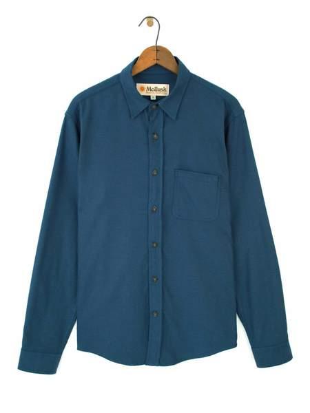 Mollusk One Pocket Shirt - Indigo
