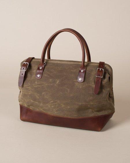 Wood&Faulk Carpenter Bag - Olympic Moss