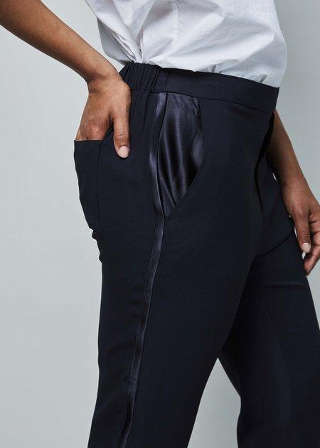 Sibel Saral Pullup Tuxedo Pant - navy