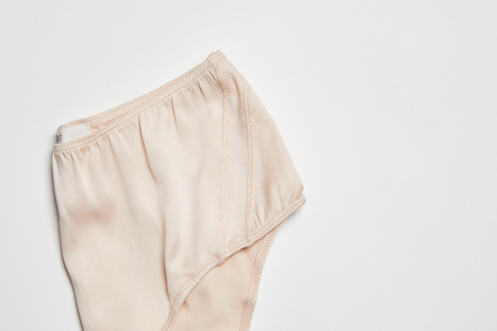 BLAM High Waist Organic Silk Brief - Winter Blush