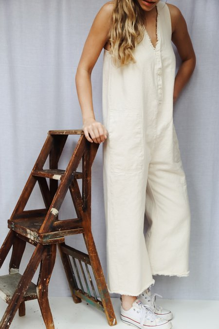 Hackwith Design House Raw Finish Jumper - Off-White