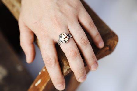 MoonPi Montana Agate Ring