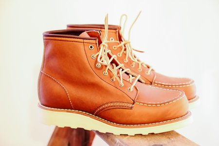 Red Wing Heritage Moc Toes Boots - Oro