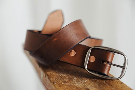 Unisex Tom Clothes & Goods Walnut Belt