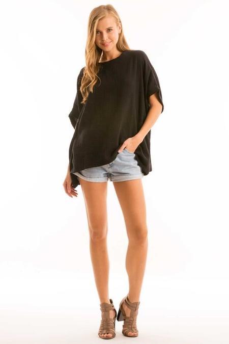 Love In Oversized Cotton Gauze Tunic