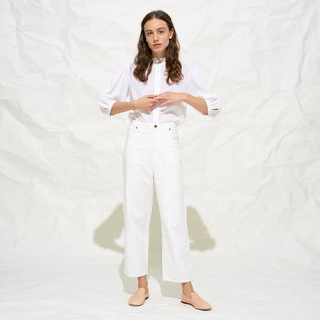 Polder Saint Pants - White