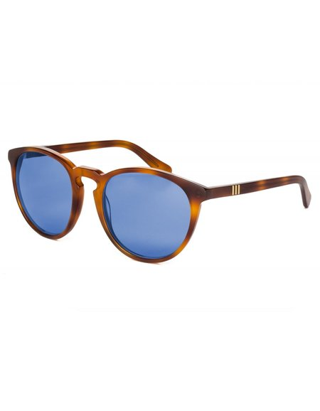 Wonderland Beaumont Sunglasses - Havana Blue CZ
