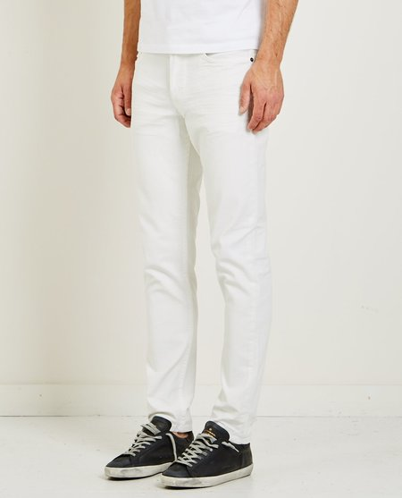 Hudson SARTOR RELAXED SKINNY JEANS - OFF WHITE