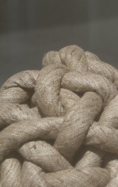 Bartleby Silk Tussah Knot - Natural