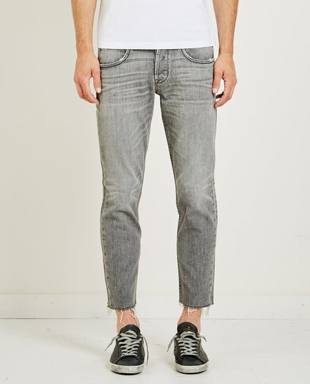 Hudson BLAKE SLIM STRAIGHT CROPPED - CHROME