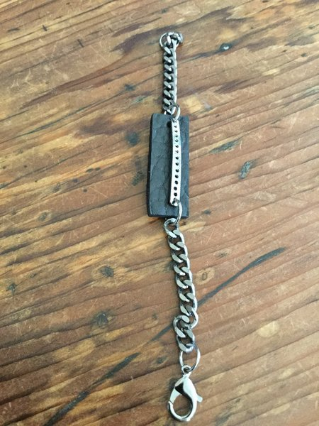 David Galan Leather Bracelet