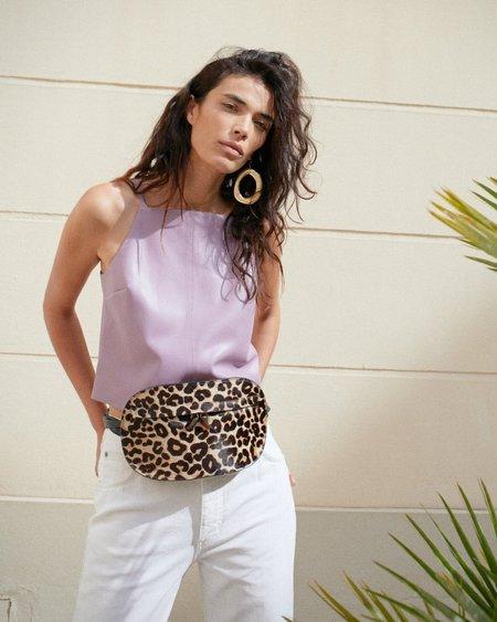 Nanushka Oro Belt Bag - Leopard Pattern
