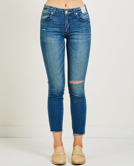 amo denim STIX CROP JEAN - NIGHT OWL