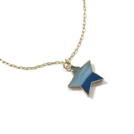 Marijke Bouchier Blue Star Necklace