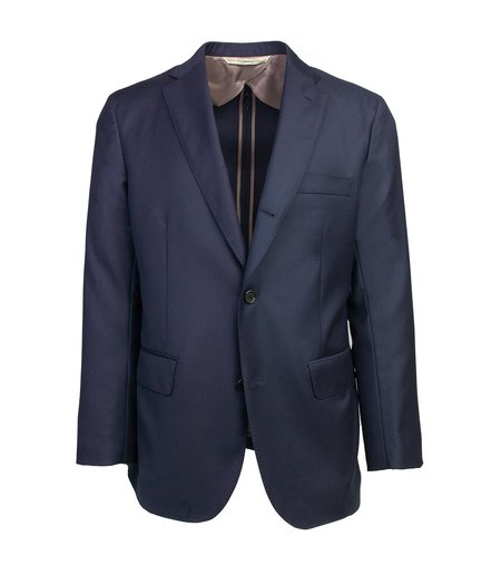Freemans Sporting Club The Freeman Unstructured Suit - Navy