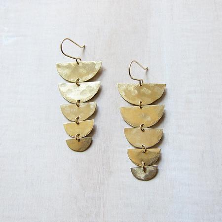 Alchemilla Backbone Earrings