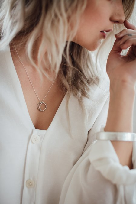 Kind Jewellery Crescent Lune Necklace