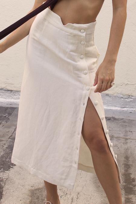 Ajaie Alaie Transitional Skirt - Cloud