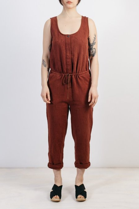 Bridge & Burn Marta Jumpsuit - Clay Red