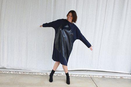 Tomas Maier Reflective Airy Poplin Dress - Blazer/Blazer