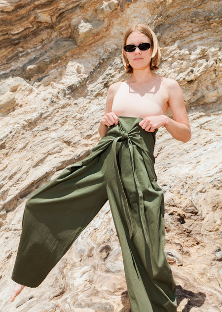 323 Fisherman Pants - Green