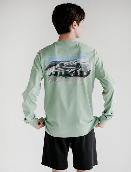 Cottweiler R.V. Long Sleeve Shirt - Sage