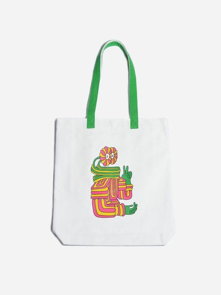 ONS El Rollo Deck Tote - white/green handle