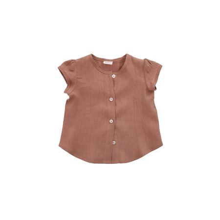 Kids Nobonu Caramella Blouse - Antique Rose