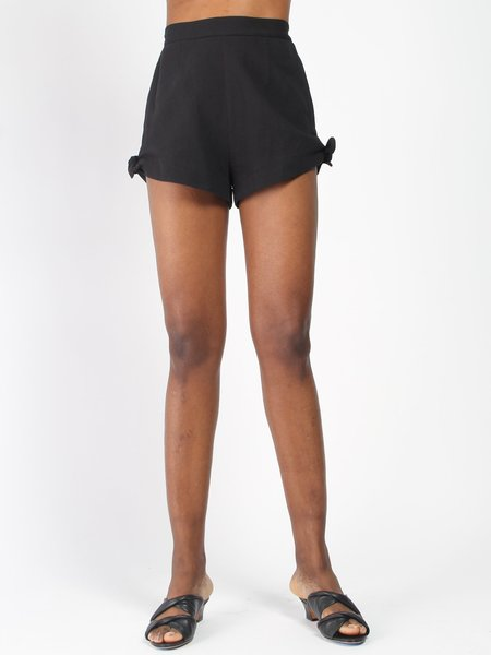 Samantha Pleet Piccolo Shorts - Black
