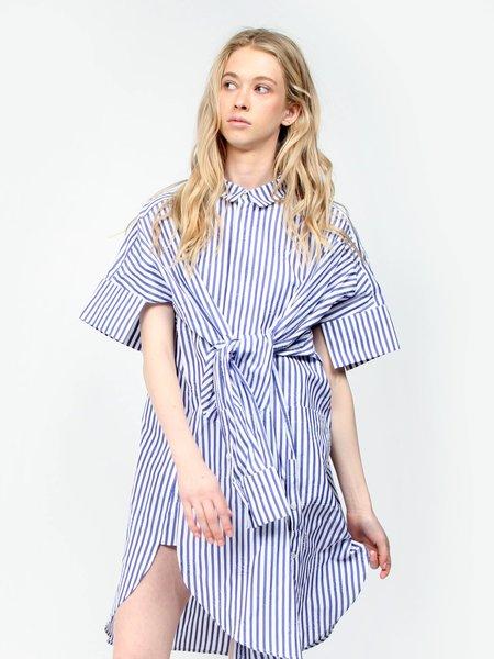 Henrik Vibskov Sleepless Dress - Stripes