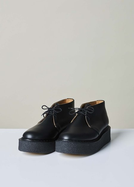 YMC Leather Creeper Boot - Black